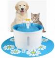 Fontána na pitie pre mačky (modrá)