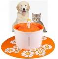 Fontána na pitie pre mačky (oranžová)